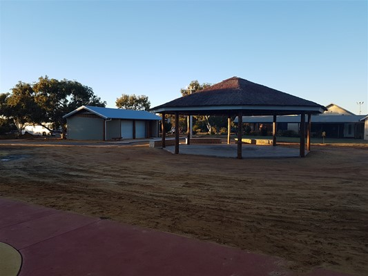 Bundiyarra - Construction of - Construction of Shelters and Ablutions